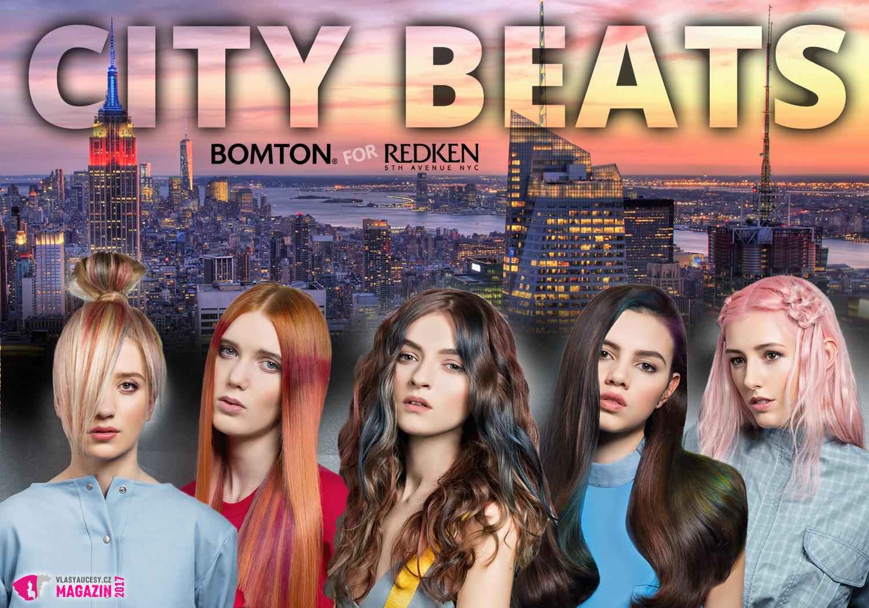 Bomton for Redken – City Beats: inspirativní práce s barvami Redken z rukou kadeřníků Bomton studií.