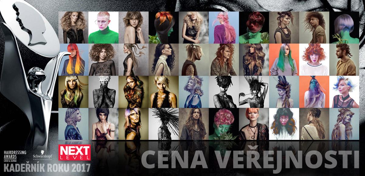 Hlasovat o Cenu veřejnosti Czech and Slovak Hairdressing Awards 2017 můžete až do 1. října 2017 (včetně).