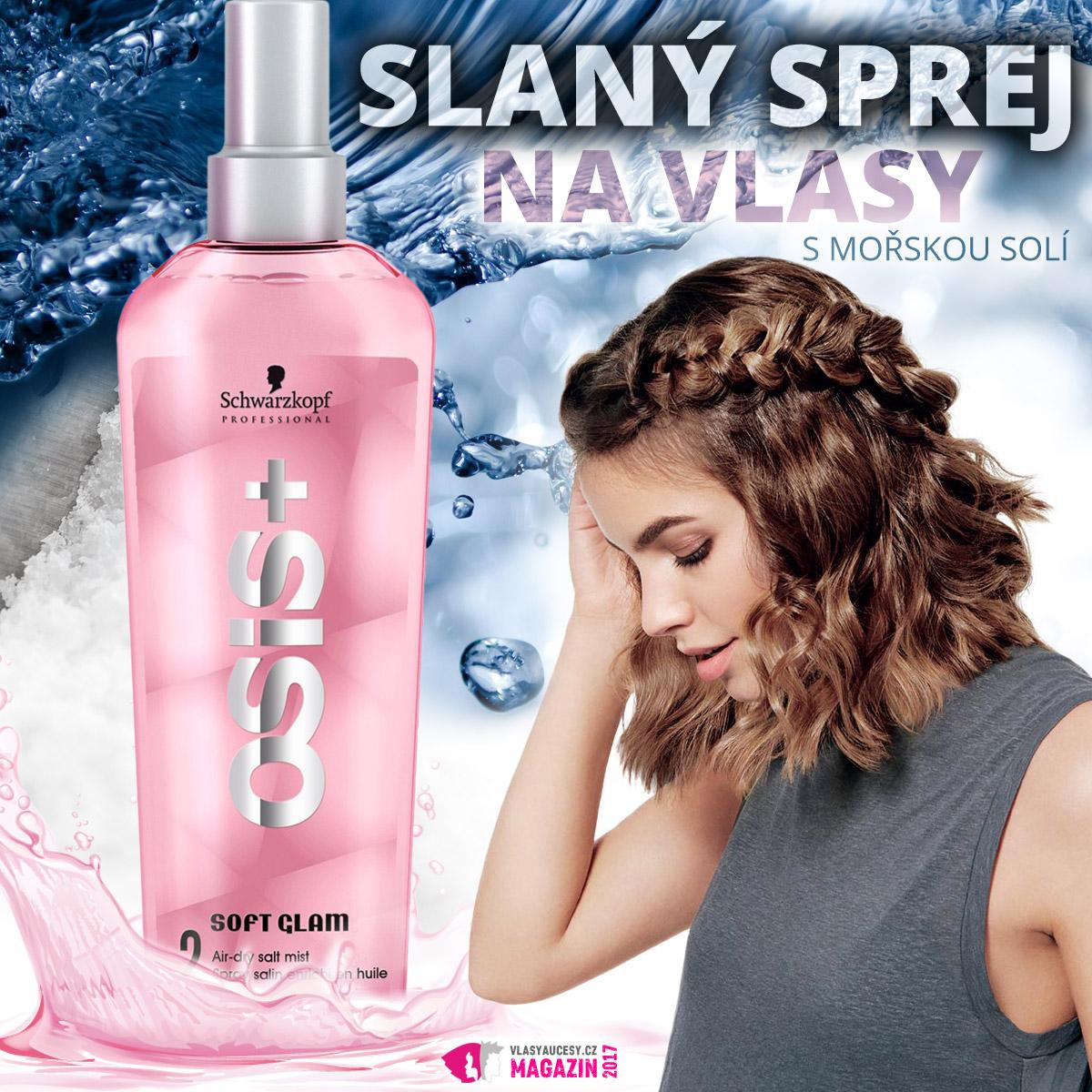 Používáte slaný sprej na vlasy, abyste docílily vzhled plážových vln? Otestovala jsem Osis+, který nabízí mnohem komplexnější řešení pro vlasy.