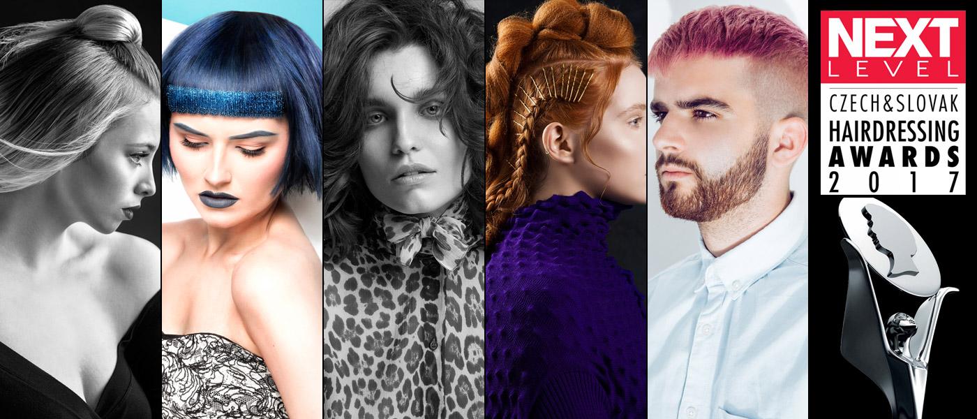 Podívejte se na nominace s kolekcemi účesů v kategorii Cena tisku SK 2017 v Czech and Slovak Hairdressing Awards 2017 / Kadeřník roku 2017.
