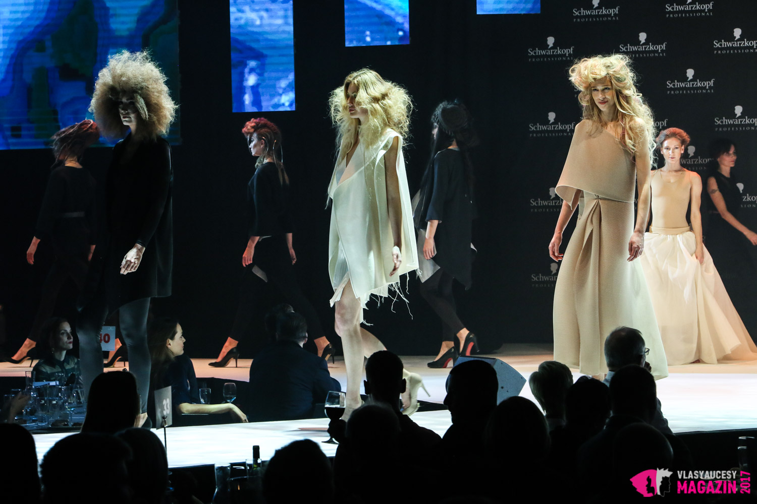 Show Mishy Čadkové na galavečeru Czech and Slovak Hairdressing Awards 2017.