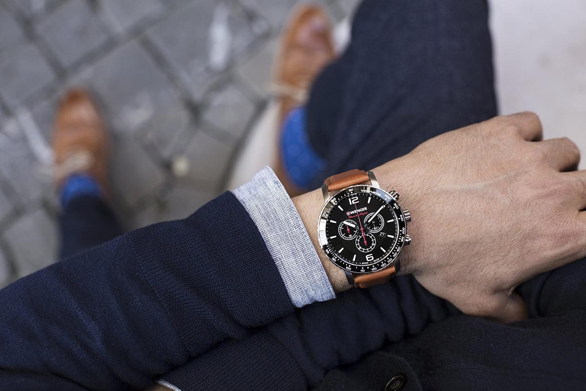Pánské hodinky Wenger Roadster Black Night
