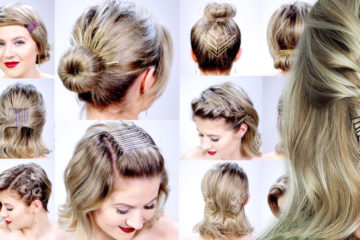 Sponky do vlasů 2018: to je stylový update účesu pro vaše dlouhé vlasy