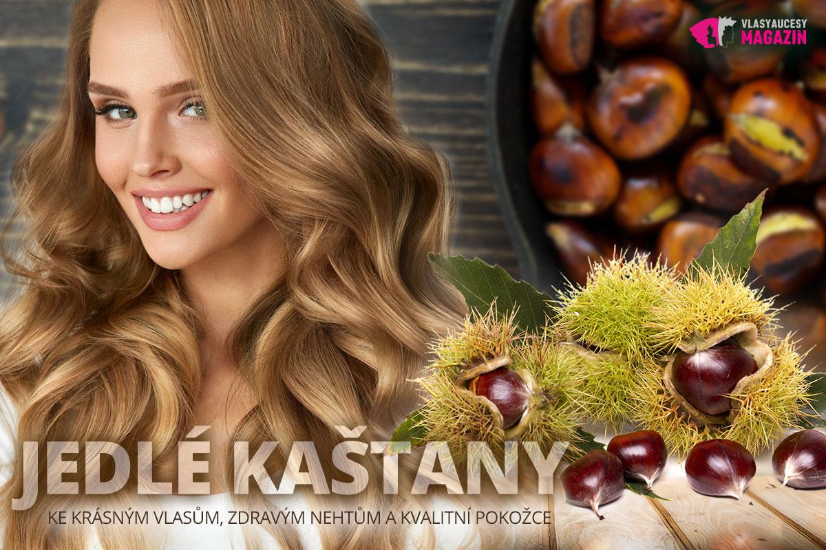 Jedlý kaštan patří do našeho zdravého jídelníčku. Pomohou nám nejen ke zdraví, ale i ke kráse naší pokožky, nehtů a vlasů.
