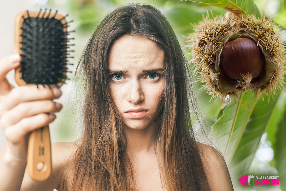 Dejte si kaštany jako pamlsek proti vypadávání vlasů.