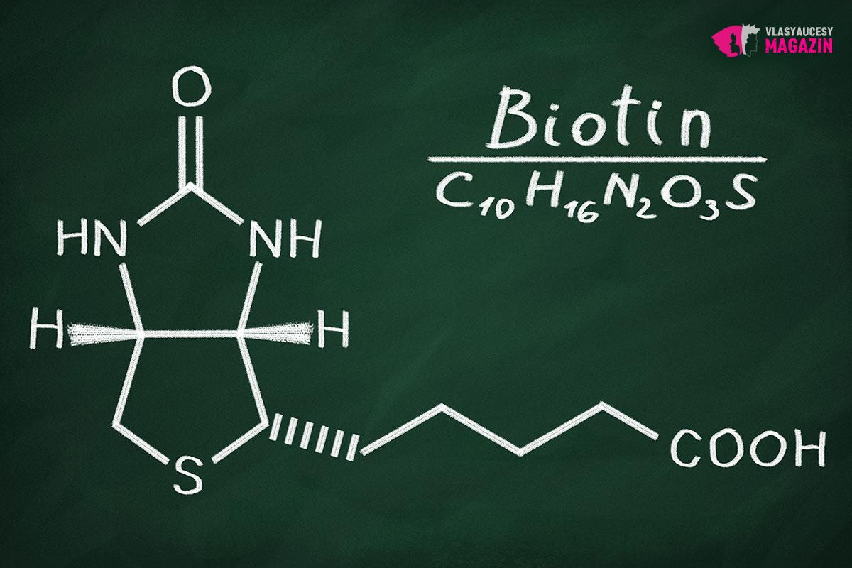 Vitamín H patří mezi nejdůležitější vitamíny pro vlasy.