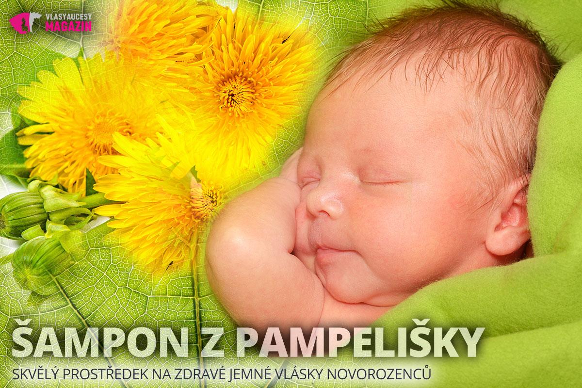 Šampon z pampelišky lékařské je skvělý na zdravé jemné vlásky novorozenců, ale i jako prevence či pomoc při seboroické dermatitidě.
