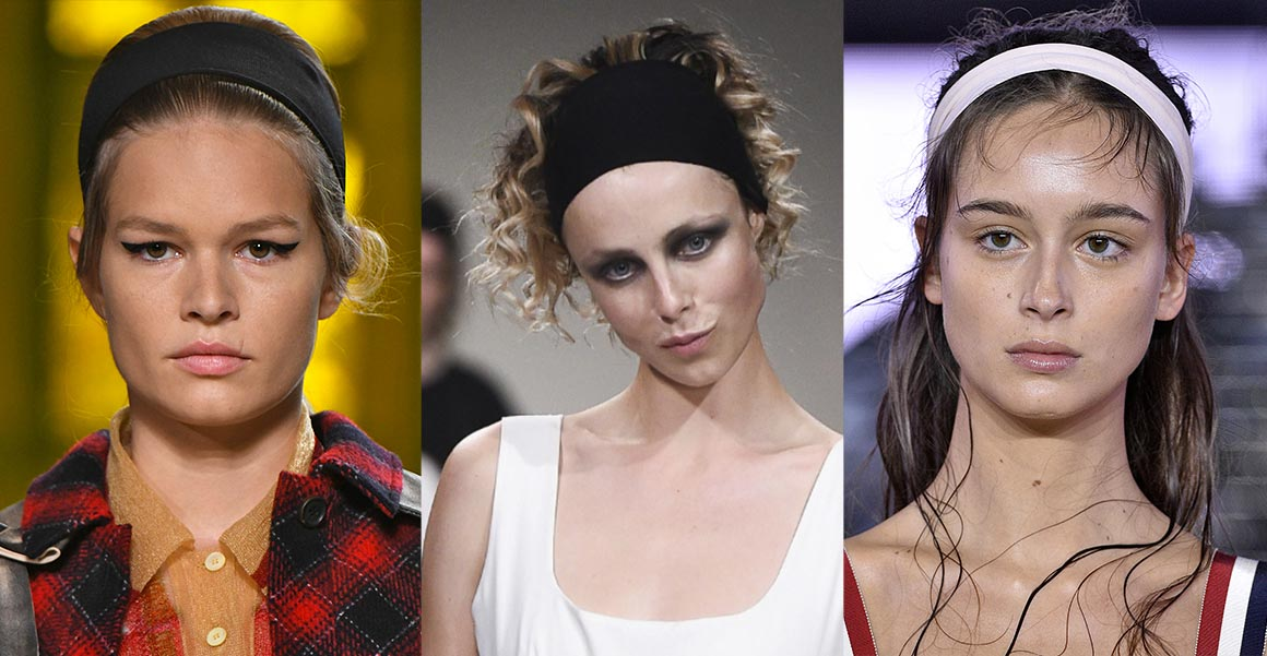 Čelenka ve vlasech pro jaro a léto 2018 se objevila v kolekcích Miu Miu, Molly Goddard nebo Moncler Gamme Rouge.