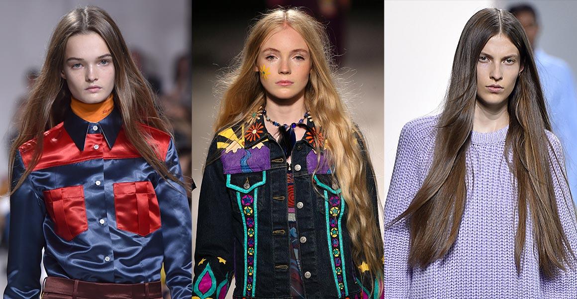 XXL vlny na XXL vlasech jsou hitem pro vlasy 2018. Objevily se v kolekcích Calvin Klein Collection, Anna Sui a Michael Kors Collection (viz. obrázek). Ale i na molech přehlídek Gucci, Oscar de la Renta nebo Fashion East.