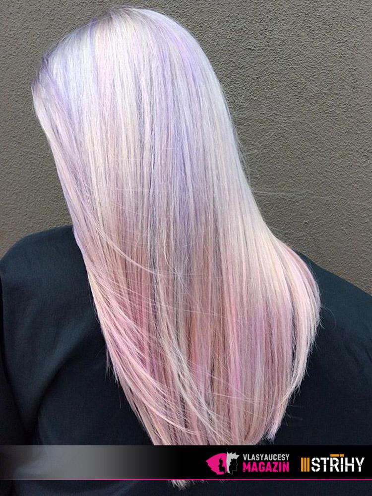 Opálové vlasy neboli Hollywood Opal hair. Troufnete si na tyto trendy účesy 2018?