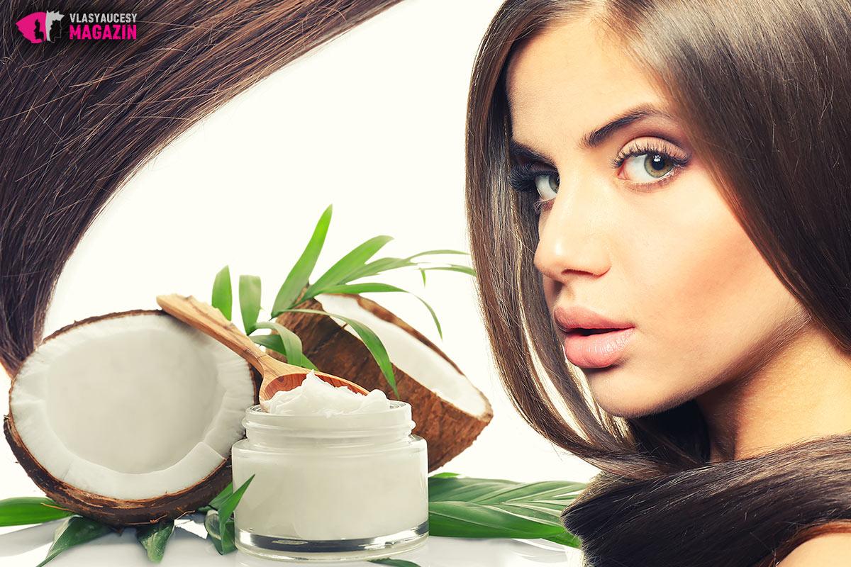 Nakrmte své vlasy kvalitním kokosovým olejem. Odvděčí se vám.